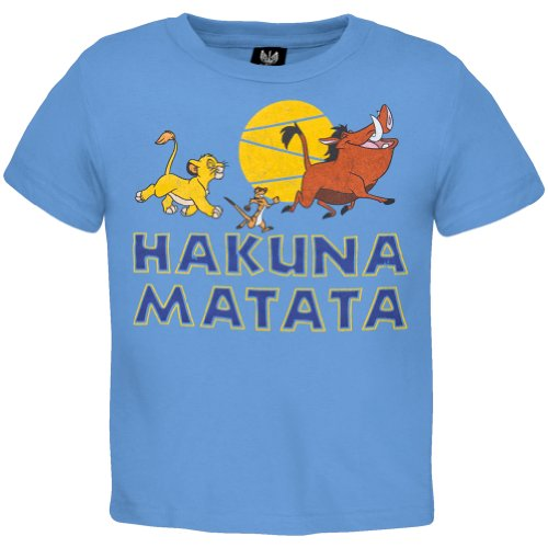 The Lion King - Baby-Boys African King Toddler T-Shirt 4T Light Blue front-678929