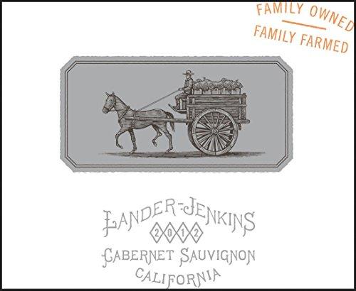 2012 Lander-Jenkins California Cabernet Sauvignon 750 Ml