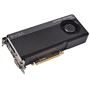 EVGA GeForce GTX650Ti Boost SuperClocked 2GB GDDR5 192bit, Dual-Link DVI-I, DVI-D, HDMI,DP, SLI Ready Graphics Card