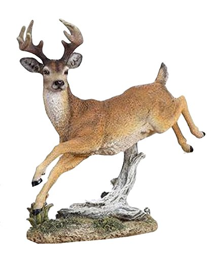 Napco Leaping Deer Figurine
