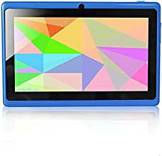 Yuntab Q88 Tablet 7 pulgadas WiFi Allwinner A23 , Doble Core Doble cámara Multi-touch, Android 4.4 , Google Play Color Azul