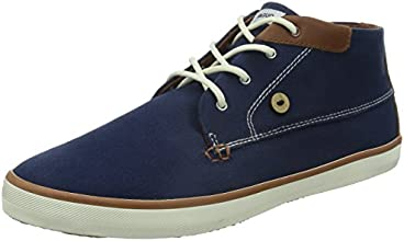 Faguo Wattle, Baskets mode homme - Bleu (Marine/Fauve), 42 EU (8 UK) (9.5 US)