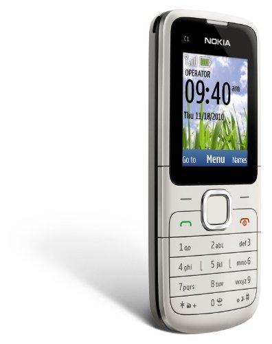 Nokia C1-01 Unlocked GSM Phone–U.S. Version with Warranty (Warm Gray)