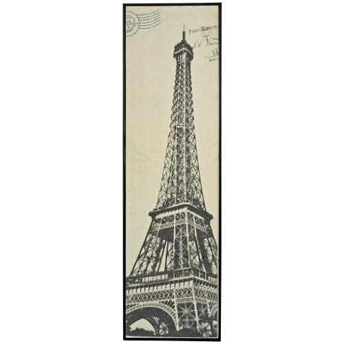 Eiffel Tower Framed Textile Print