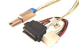 Data Storage Cables, p/n C5629X2-1M-2: Mini SAS-SAS Drive x 2, 1M, Dual Port [Electronics]
