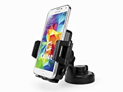 See Cellet Qi Wireless Smartphone Car Charging Kit with Car Air Vent & Windshield/Dashboard Mounts Details