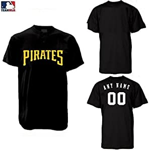 Pittsburgh Pirates 2-Button (CUSTOM or Blank Back) MLB Licensed Authentic Replica... by Authentic MLB Sports Shop