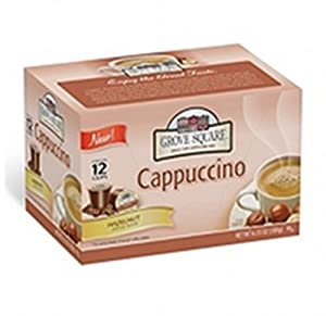 Grove Square Hazelnut Cappuccino Individual Cups - 72 Ct by Stum Foods