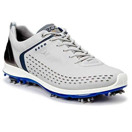 ECCO Men's Biom G2 Golf Shoe, Concrete/Royal, 47 EU/13-13.5 M US (Ecco Golf Shoes 47 compare prices)