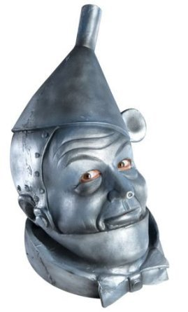 Licensed Wizard of Oz TIN MAN Full Head Latex Mask