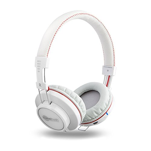 Noisehush Bt700-12266 Freedom Bluetooth Headphones With Mic - White