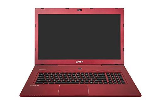 MSI GS70 2QE-050NL 43,9 cm (17,3 Zoll) Notebook (Intel Core i7-4710HQ, 3,3GHz, 16GB RAM, 1TB HDD, Nvidia GeForce GTX970M, Win 8) rot