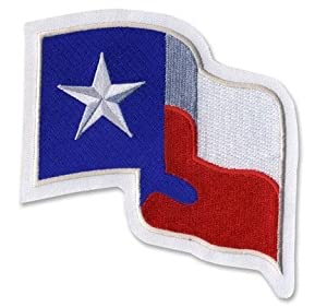 Texas Rangers MLB Baseball Flag Home Jersey Sleeve Patch by Baseball Jersey Patches