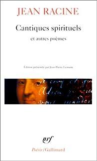 Cantique De Jean Racine Paroles