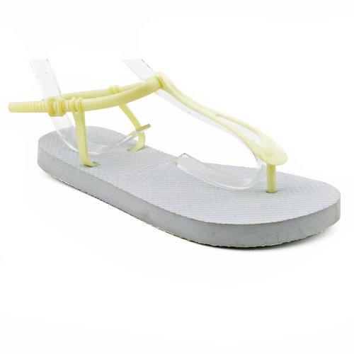 Lacoste Lemara Open Toe Flip Flops Sandals Shoes Red Womens