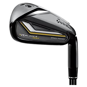 TaylorMade Mens Rocketbladez Max Iron Set by TaylorMade
