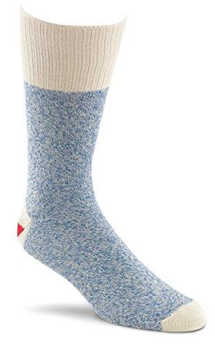 Red Heel Monkey Socks 2 Pairs-Size Large Blue