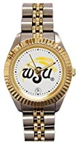 Wichita State University Shockers Ladies Executive Stainless Steel Sports Watch