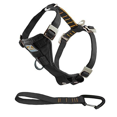 Artikelbild: Kurgo 1259 Tru-Fit Smart Geschirr für Hunde, erhöhte Stabilität inklusive Gurtanschluss, schwarz, XL