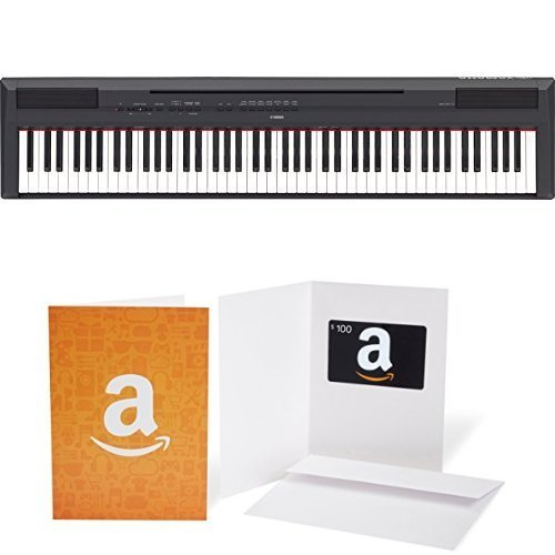 Purchase Yamaha P115B Digital Piano with $100 Amazon Gift Card