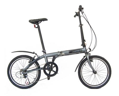 fBIKE Direct 6 Speed Folding Bike, Graphite