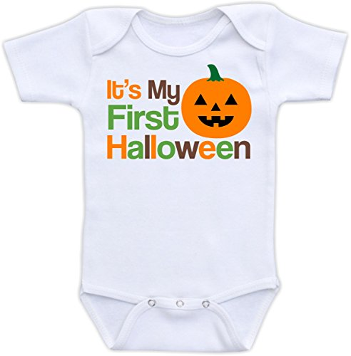 It's My First Halloween - Cute Halloween Baby Bodysuit or Baby Shirt