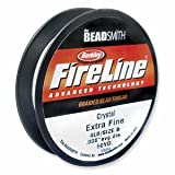 "FireLine Braided Bead Thread .006"" Crystal Clear"