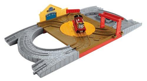Mattel BCX19 - Fisher-Price Thomas und seine Freunde Saltys Hafengelände Spielset
