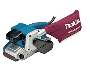 Makita 9903 8.8 Amp 3-Inch-by-21-Inch Variable Speed Belt Sander with Cloth Dust Bag by Makita