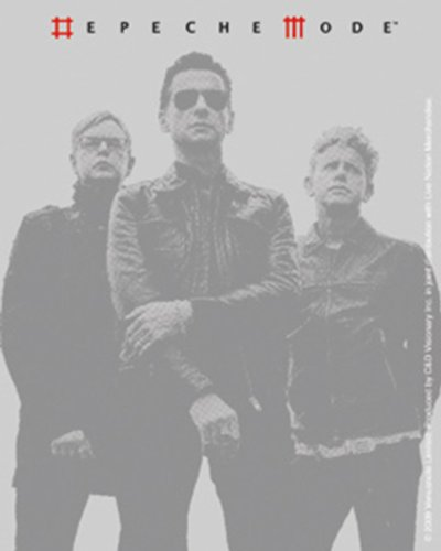 Licenses Products Depeche Mode Grey Photo Sticker