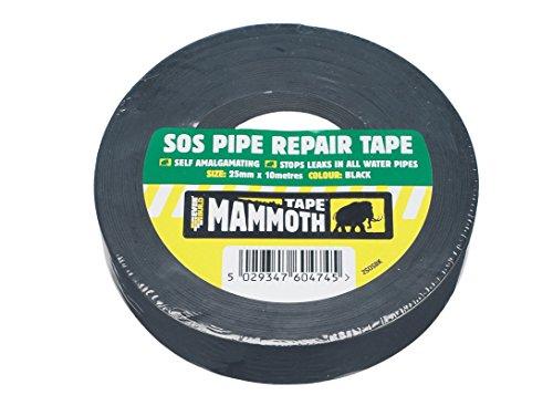 Everbuild EVB2SOSBK 25 mm x 10 m SOS Pipe Repair Tape - Black