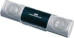 JVC SP-A220-S ポータブルスピーカー シルバー