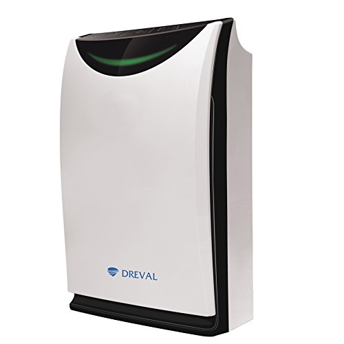 Dreval D-850 HEPA 0.1 Micron UV Light 7 Stage Air Purifier Humidifier with Odor Sensor (Allergenic Air Purifier compare prices)