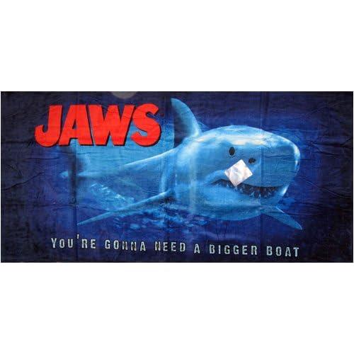 Jaws Beach Towel