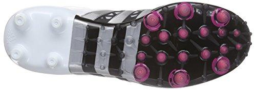 adidas Herren Ace 15.1 Fg/Ag Fußballschuhe, Schwarz (Core Black/Matte Silver/Ftwr White), 40 2/3 EU -