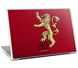 Zing Revolution Game of Thrones Premium Vinyl Adhesive Skin for 13-Inch Laptops, Lannister Sigil (MS-GOT40010)