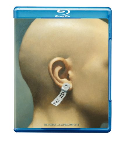 Cover art for  THX 1138 (The George Lucas Director's Cut) [Blu-ray]