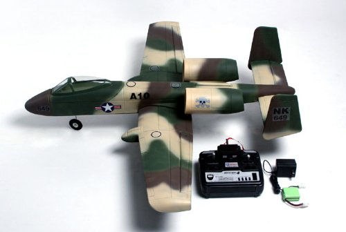 A-10 Thunderbolt II Radio Remote Control Electric Ducted Fan Jet RTF  4 CH 