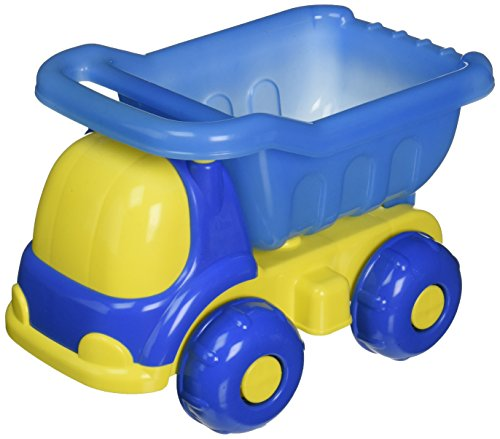Small World Toys Sand & Water - Peek-A-Boo Dump Truck - Colors vary