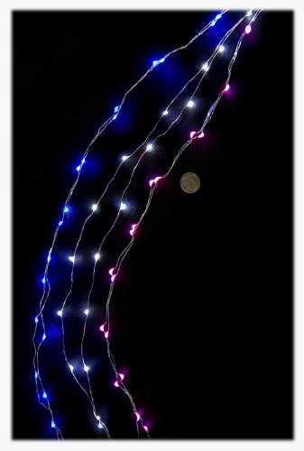 Fortune Products Ffl-20B-12 Fantasia Fairy 20 Blue Led Lights, 3.5' String, Blue (Case Of 12)