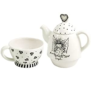 Marci Children of the Inner Light Collection 2 Piece Angel Tea Set from Marci