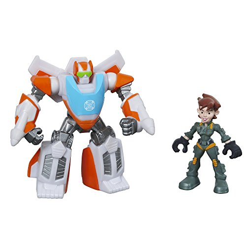 Playskool Heroes Transformers Rescue Bots Blades The Flight-Bot and Dani Burns Figure Pack - 1