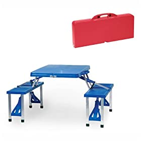 Folding Table and Seats by Picnic Time