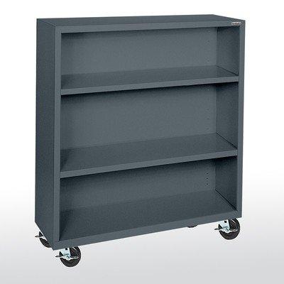 Sandusky Lee BM20361842-02 Elite Series Welded Mobile Bookcase, 18