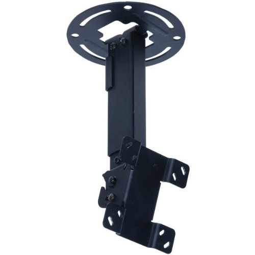 "Peerless Pc930A Adjustable Tilt Ceiling Mount For 15"" To 24"" Displays With 9.8"" To 13.8"" Extension (Black)"