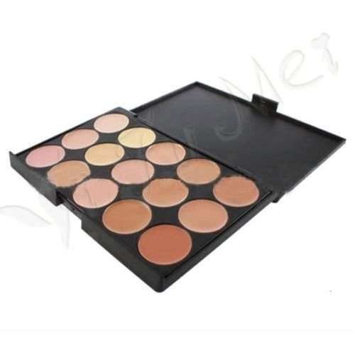 Hot Professional 15 Colors Eyeshadow Nude Matte Shimmer Palette Makeup New #2
