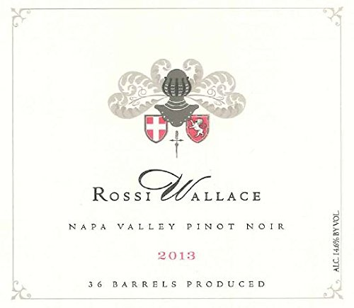 2013 Rossi-Wallace Napa Valley Pinot Noir 750 Ml