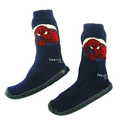 spiderman chaussons chaussettes spiderman taille 18 20. Black Bedroom Furniture Sets. Home Design Ideas