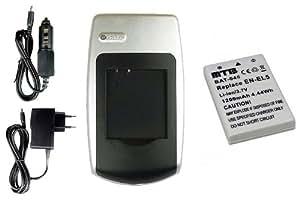 Chargeur + Batterie EN-EL5 pour Nikon Coolpix P520, P5100, P6000, S10