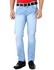 Karya Men Light Blue Slim Fit Jeans